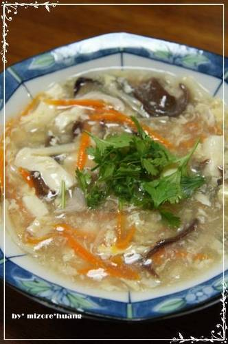 Easy Authentic Taiwanese Hot & Sour Soup