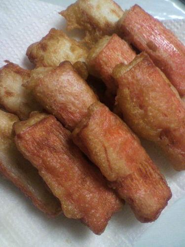 Golden Ratio Imitation Crabstick Fritters