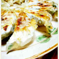 Simple Homemade Gyoza with Chinese Chives