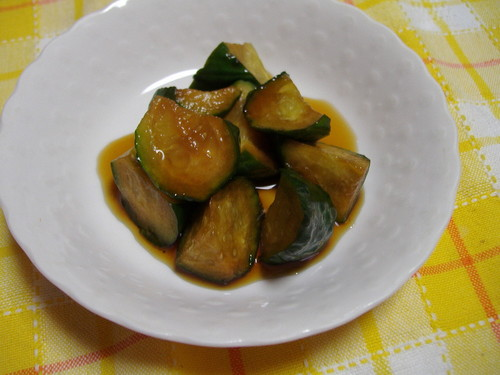 Cucumbers Marinated in Sweet Vinegar