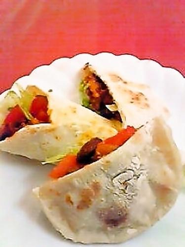 Soft Shells as Tortillas or Pita Bread!