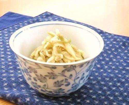 Stir-Fried and Simmered Kiriboshi Daikon and Zha Cai