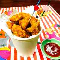 Popcorn Chicken (Fried Chicken Bites)