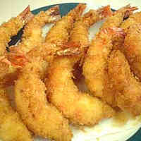 Properly Made Fried Shrimp