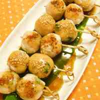 Imitation Crab Rice Dumplings