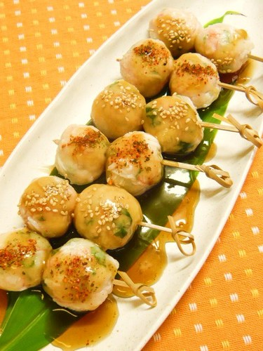 Imitation Crab Rice Dumplings