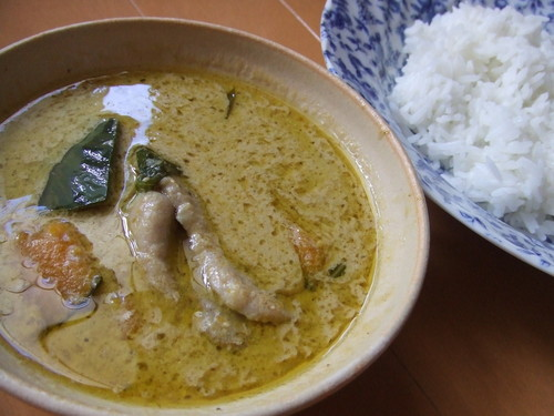20 Minutes in a Frying Pan: Thai Green Curry