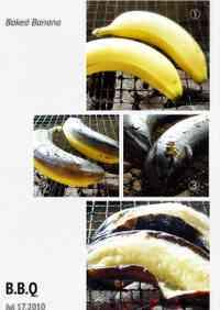 Summer Food!! BBQ Grilled Banana