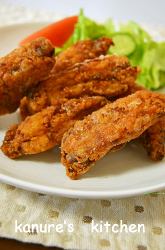 Spicy Curry Fried Chicken Wings