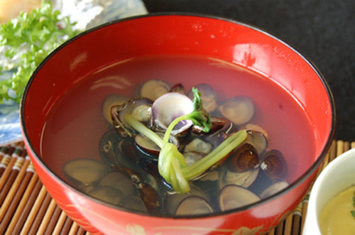 Shijimi Clam Soup For the Dog Days of Summer!