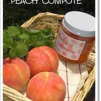 Pretty Rose Colored ♪ Peach Compote
