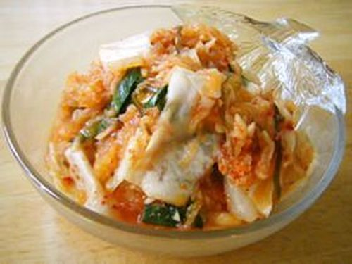 Storeable Homemade Cabbage Kimchi