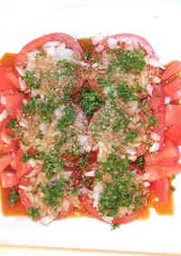 Hors d'Oeuvre Tomato Salad