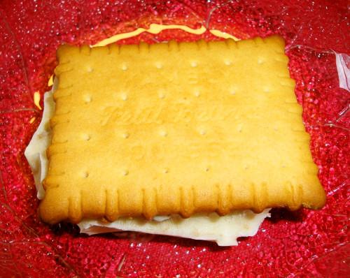 Rum Raisin Ice Cream Cookie Sandwiches