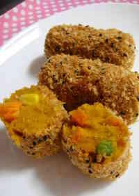 Baked Kabocha Squash Croquettes