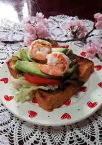 A Scrumptious Open Sandwich