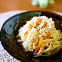 Simmered Kiriboshi Daikon and Cabbage