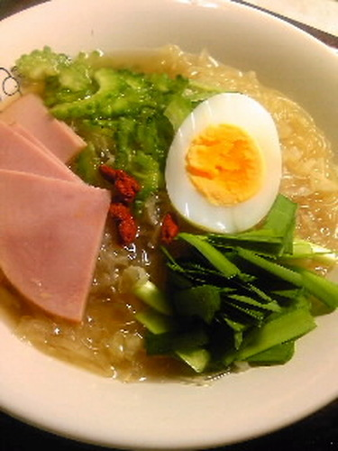 Ramen-style Glass Noodle Soup for Dieters
