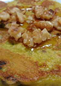 Mostly-Kabocha Macrobiotic Pancakes