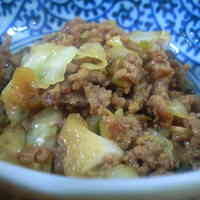 Ground Meat and Cabbage