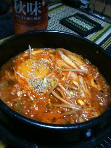 Korean Style Natto Stew (Cheonggukjang)
