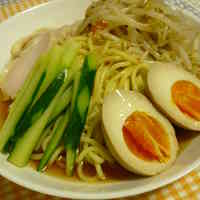 Chilled (HIyashi) Ramen, Soy Sauce Flavored