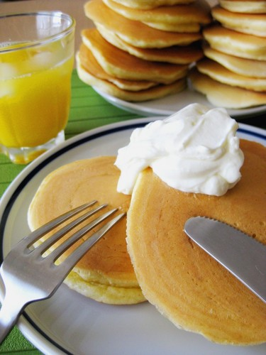Rich Milk Pancakes