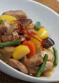 Chinese-Style Simmered Dish With Star Anise and Ginger