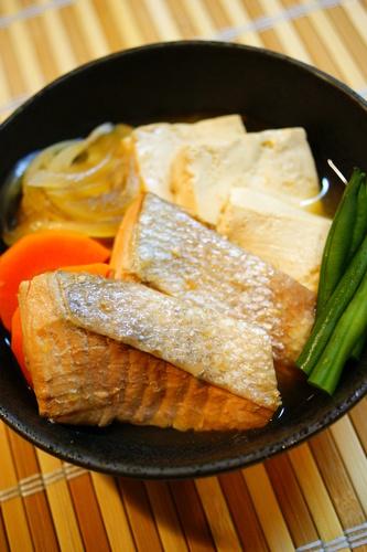 Salmon Tofu