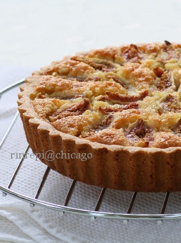 Fig & Almond Tart