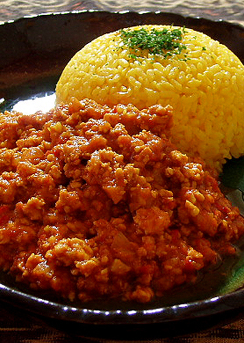 Butter Keema Curry (Ground Chicken and Spices)