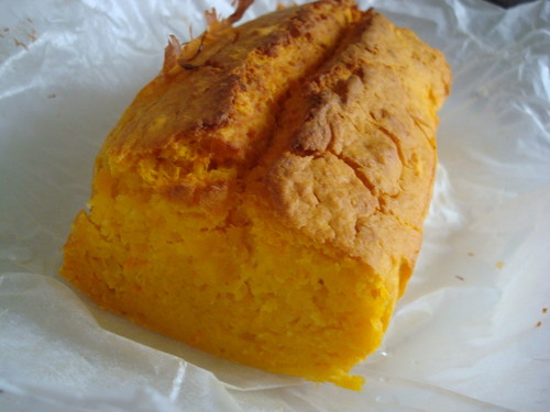 Pound Cake with Pumpkin and Carrots