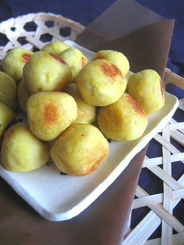 Rolly * Asian Sweet Potato Balls