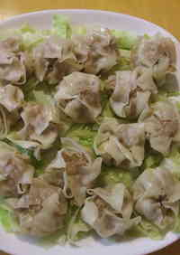 Easy Microwaved Shumai