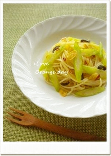 Anchovy and Celery Pasta