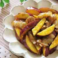 Sweet and Salty Sweet Potato and Pork Stir-Fry