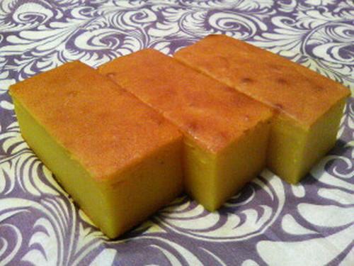 Kabocha Squash Sweets for Halloween