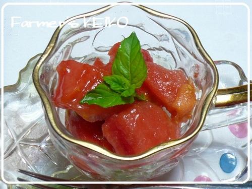 [Farmhouse Recipe] Tomato Sorbet