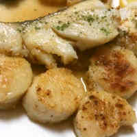 15 Minute White-fleshed Fish & Scallop Saute