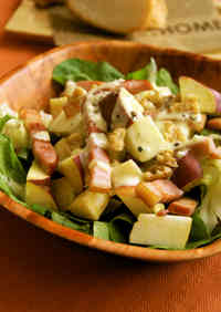 Autumn Salad with Sweet Potato and Apple