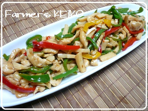 Farmhouse Recipe: Stir Fried Chicken Breast (Chinjao Rosu)