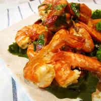 Easy Lemon-Oil Grilled Shrimp - Great for BBQ