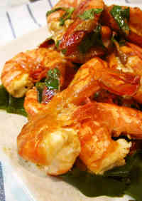 Easy Lemon-Oil Grilled Shrimp - Great for BBQ