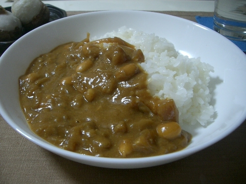 Curry with La France Pear