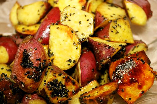 Non-fried Candied Sweet Potatoes