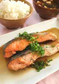 When You're Tired of Butter-Sautéed Salmon... Refreshing Pan-Fried Salmon