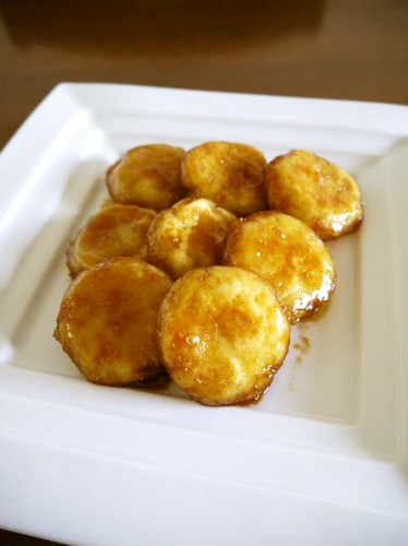 Potato Dumplings with Sweet & Savory Sauce