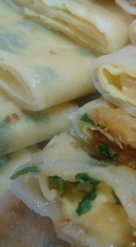 Danbing (Taiwanese-Style Breakfast)