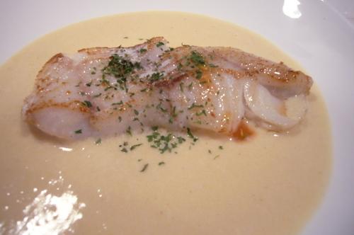 Sautéed White Fish (Cod) with Miso Sauce