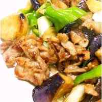 Easy Chinese at Home: Stir-fried Pork and Aubergine with Soy Sauce